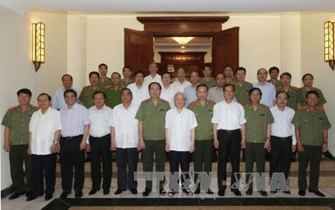 nhân sự, Tổng bí thư, Nguyễn Phú Trọng, công an, đại hội đảng