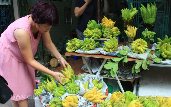Phật thủ giá trăm nghìn đắt hàng trước rằm tháng Bảy