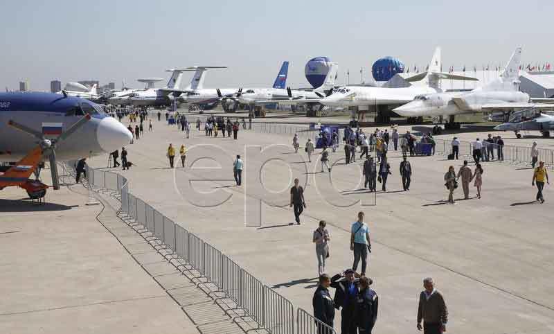 máy bay, chiến đấu cơ, Vladimir Putin, Nga, triển lãm
