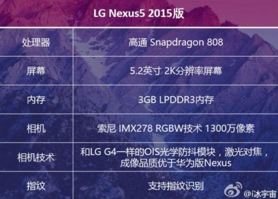 Lộ cấu hình chi tiết của Nexus phiên bản 2015
