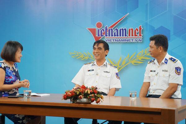 ngư dân, Thiếu tướng Ngô Ngọc Thu, cảnh sát biển, tàu CSB 8001, vịnh Bắc Bộ, cướp biển, chiến lược biển