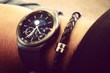 Đồng hồ Samsung Gear S2 lộ ảnh thực tế