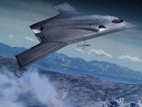 Máy bay ném bom Mỹ có thể ở cả giờ trong không phận TQ