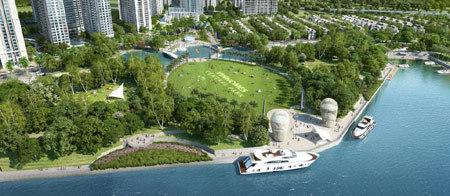 500 tỷ đồng xây công viên ven sông lớn nhất TP.HCM
