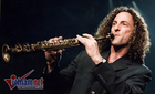 Nghệ sĩ saxophone nổi tiếng thế giới Kenny G sang Việt Nam