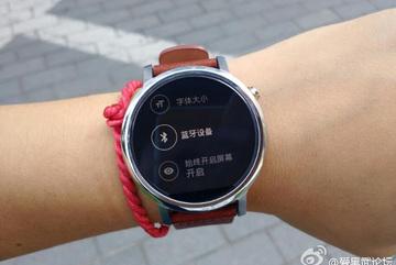 Lộ ảnh thật cả hai phiên bản đồng hồ Moto 360 mới