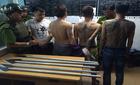 """Bắt 2 băng giang hồ """"dàn quân"""" xử nhau ở Sài Gòn"""