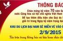 Ông Dũng 'lò vôi' mở cửa miễn phí KDL Đại Nam ngày 2/9