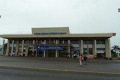 Sân bay Pleiku hoạt động trở lại sau 6 tháng đóng cửa