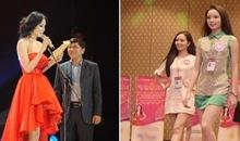 Choáng với chiều cao thật sự của Hoa hậu, Á hậu Việt Nam
