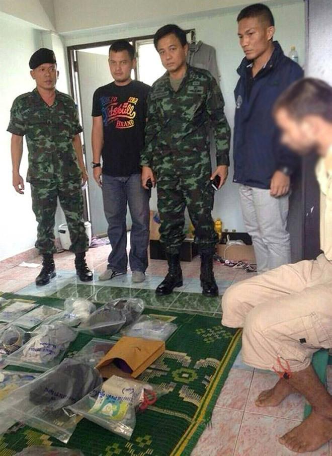 Thái Lan, Bangkok, khủng bố, nghi can, nghi phạm, bắt giữ, thế giới 24h