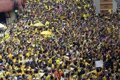 Biểu tình rầm rộ đòi Thủ tướng Malaysia từ chức