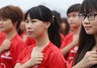 12.000 thanh niên hát Quốc ca dưới cờ Tổ quốc