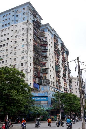 Hà Nội: Bỏ hoang 625 căn hộ tái định cư
