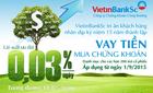 VietinBankSc giảm lãi suất giao dịch ký quỹ còn 0,03%/năm
