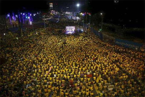 Malaysia, biểu tình, Thủ tướng, lật đổ