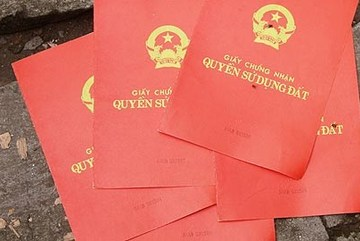 Bộ Tài nguyên - Môi trường bị mất 3.000 phôi sổ đỏ
