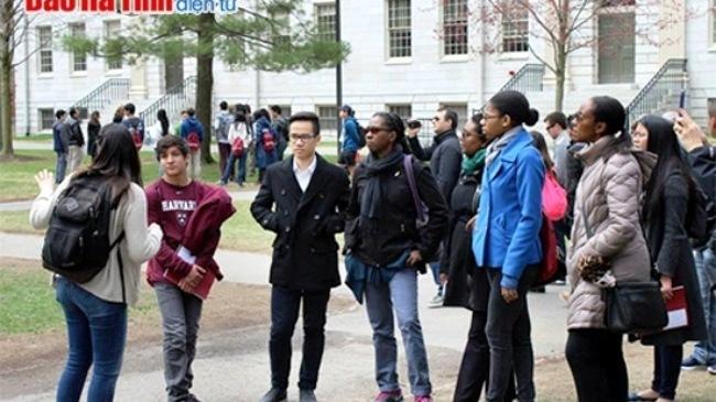 nam sinh, Hà Tĩnh, học bổng, Harvard