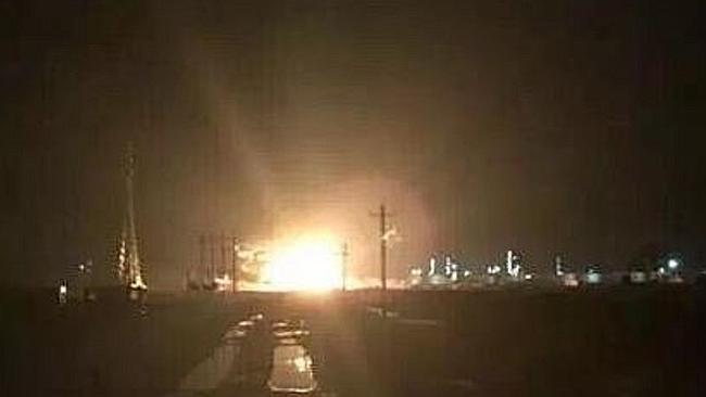 Trung Quốc, Sơn Đông, nhà máy hóa chất, nổ