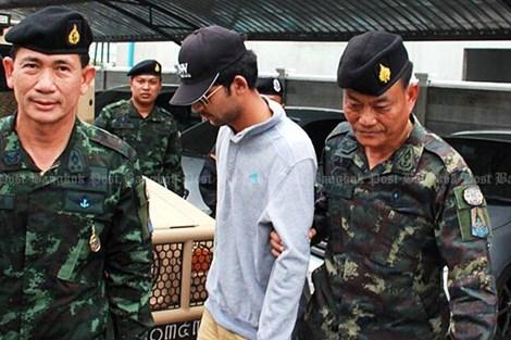 Thái Lan, đánh bom, cảnh sát, nghi phạm chính