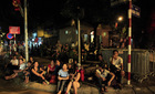 HN: Mang chiếu ra phố ngủ chờ xem diễu binh 2/9