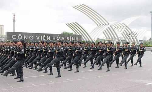 Tâm sự,  cảnh sát 9X, diễu binh ngày 2/9