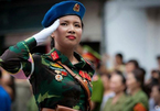 Lý giải quân hàm của nữ sĩ quan quân y xinh đẹp