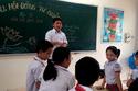 Học sinh nhộn nhịp tranh cử chức Chủ tịch