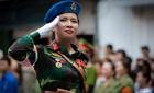Thời sự trong ngày: Quân hàm của nữ quân y xinh đẹp