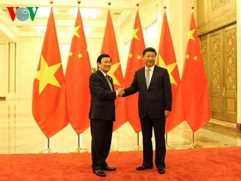 Chủ tịch nước, Trương Tấn Sang, Trung Quốc, Biển Đông, Tập Cận Bình