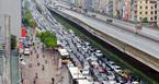 Ùn tắc, đường phố HN thành 'bãi đỗ xe khổng lồ'