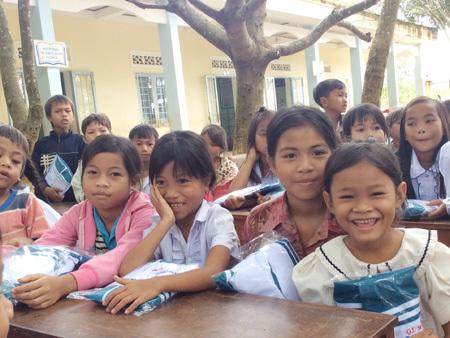 Học sinh, khai trường, Kon Tum