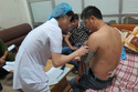 Nhà báo bị truy sát ngay giữa trung tâm thành phố Thái Nguyên
