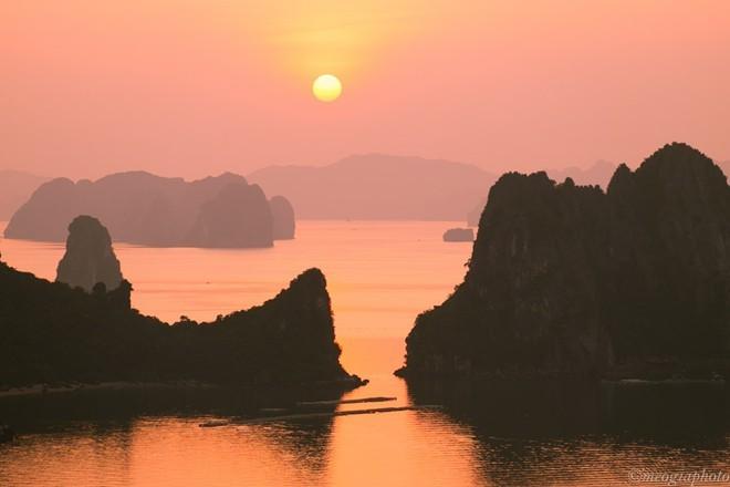 tráng lệ, vịnh Hạ Long, trên cao