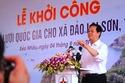 Khởi công dự án lưới điện vượt biển dài nhất Việt Nam