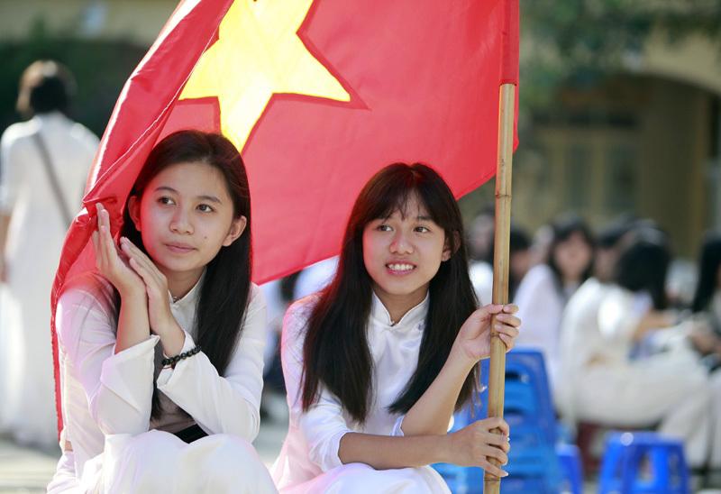 THPT Việt Đức, khai giảng
