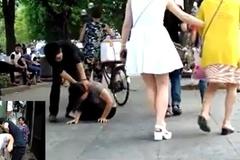 Clip giả vờ bạo hành bạn gái và sự vô cảm đáng sợ của người dân