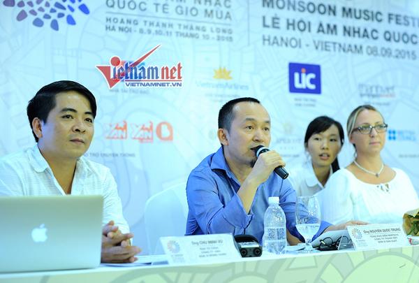 Lễ hội âm nhạc quốc tế Gió Mùa, nhạc sĩ Quốc Trung, Hoàng Thùy Linh, Tóc Tiên