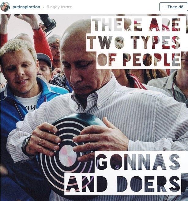 Hình ảnh đời thường trên Instagram của Tổng thống Putin