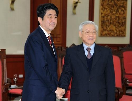 Tổng bí thư, Nguyễn Phú Trọng, Nhật Bản, ODA, Hoàng Bình Quân