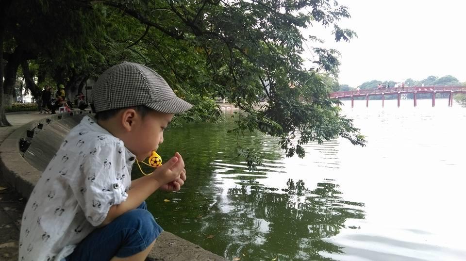 Rơi nước mắt status bố viết cho con trai 5 tuổi phải ăn kiêng