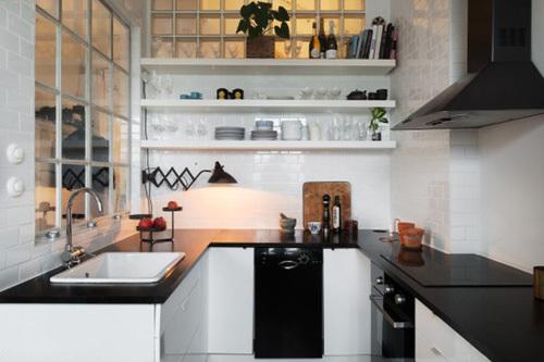 Ấn tượng với 10 phòng bếp nhỏ xinh đầy cảm hứng