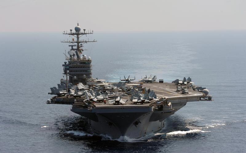 Đọ sức mạnh hàng không mẫu hạm TQ với Mỹ, Nga
