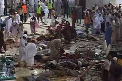 Sập cần cẩu ở thánh địa Hồi giáo, 107 người chết