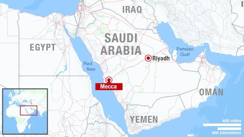 tai nạn, sập cần cẩu, Mecca, thánh địa, Hồi giáo