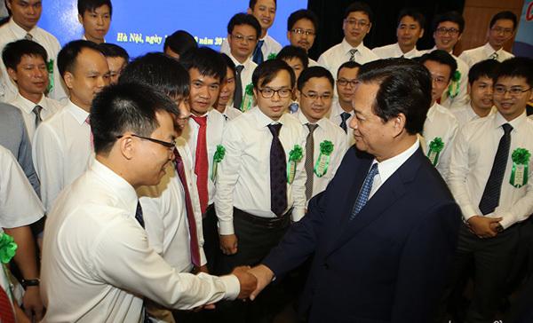 nhà khoa học trẻ, gặp mặt Thủ tướng, tâm tư, kiến nghị, hiến kế, Nguyễn Bá Hải, đề xuất, Bộ KHCN