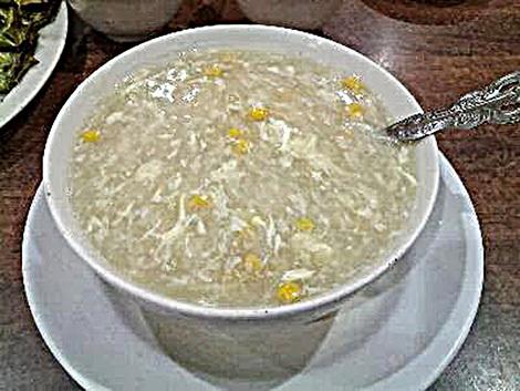 Kinh sợ súp cua tẩm bổ, phát hãi gạo giấy nấu không tan