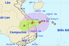 Tối nay, Quảng Nam trong tâm bão số 3