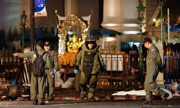 Malaysia bắt 3 nghi can đánh bom Bangkok