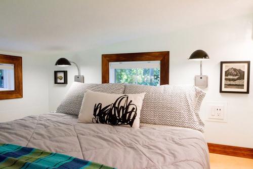 """""""Chết mê chết mệt"""" với ngôi nhà nhỏ 23m² có 2 phòng ngủ êm ái"""